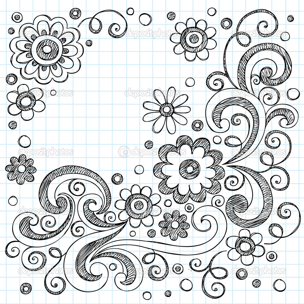 Easy Swirl Designs To Draw On Paper