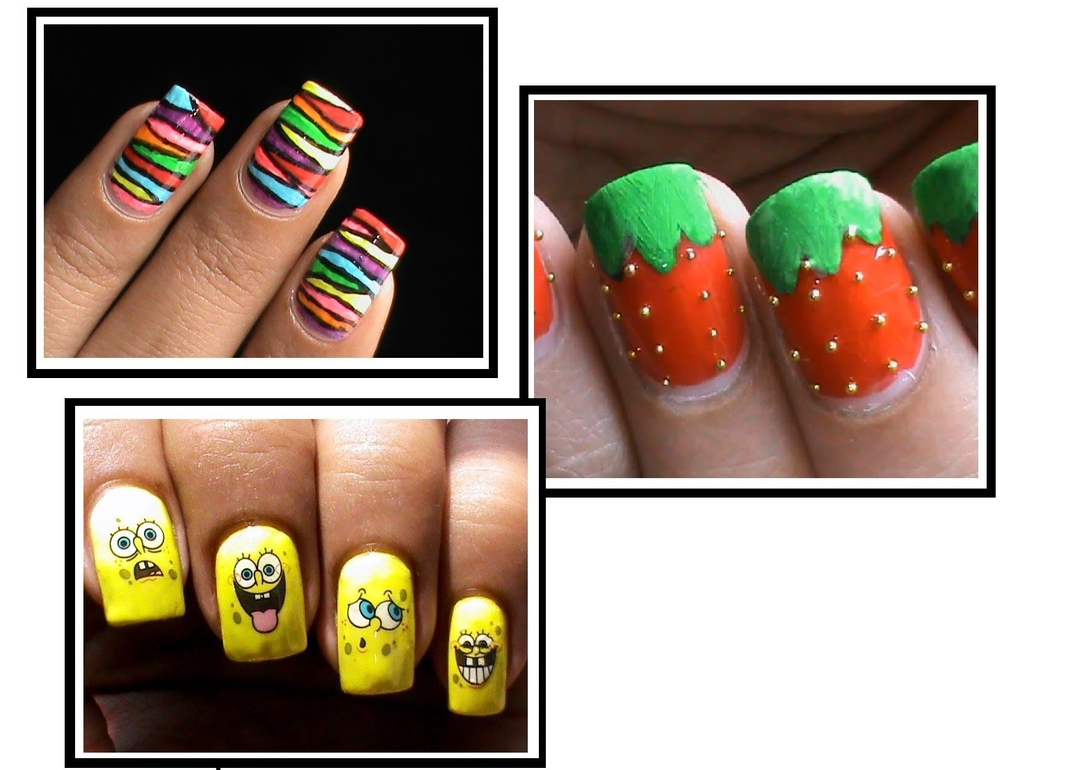 17 Easy Step By Step Nail Designs With Tape Images - Easy ...