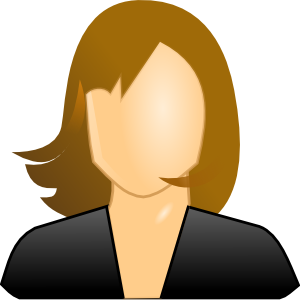Female User Icon Clip Art