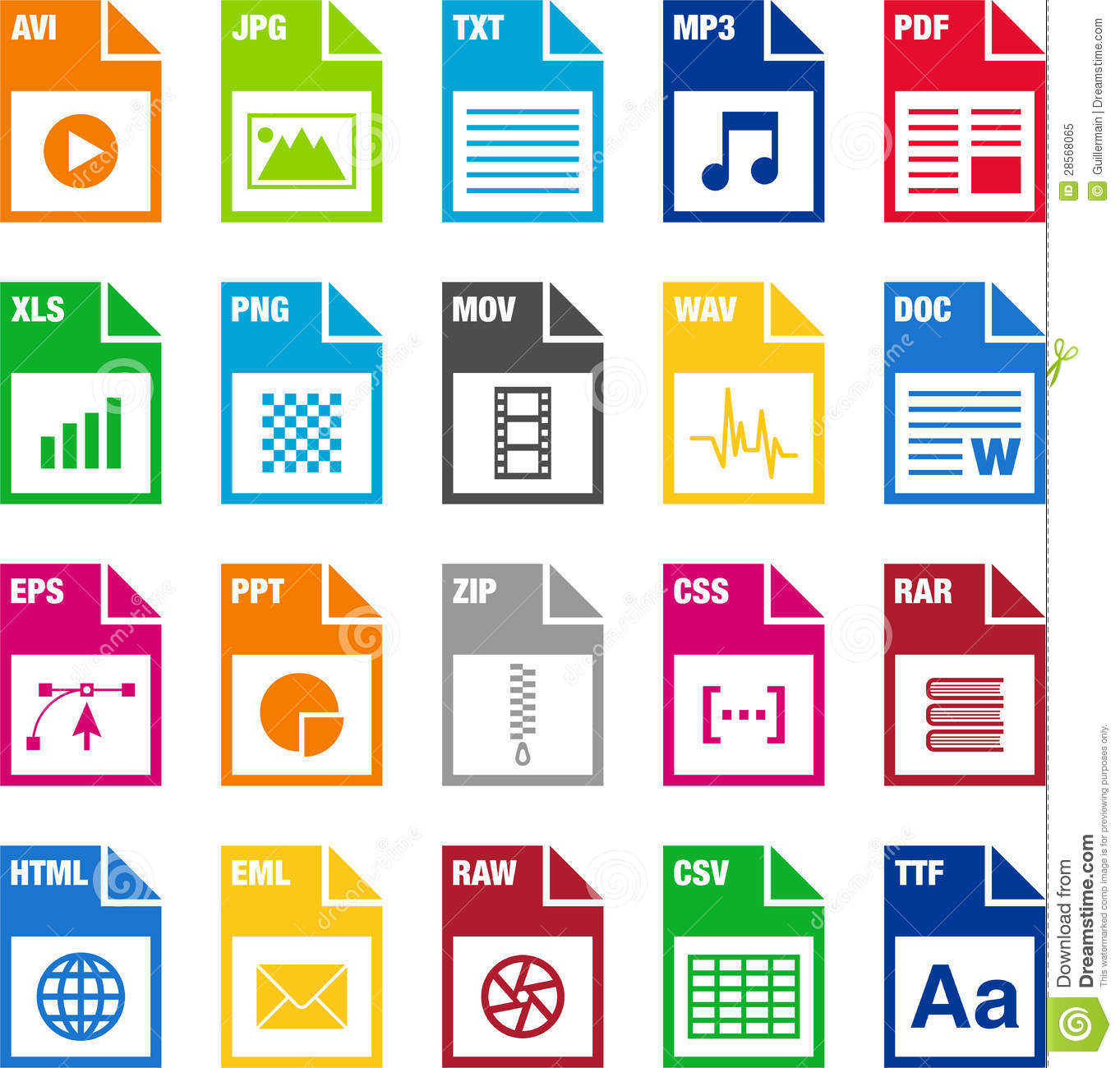 12 Icon File Format Images