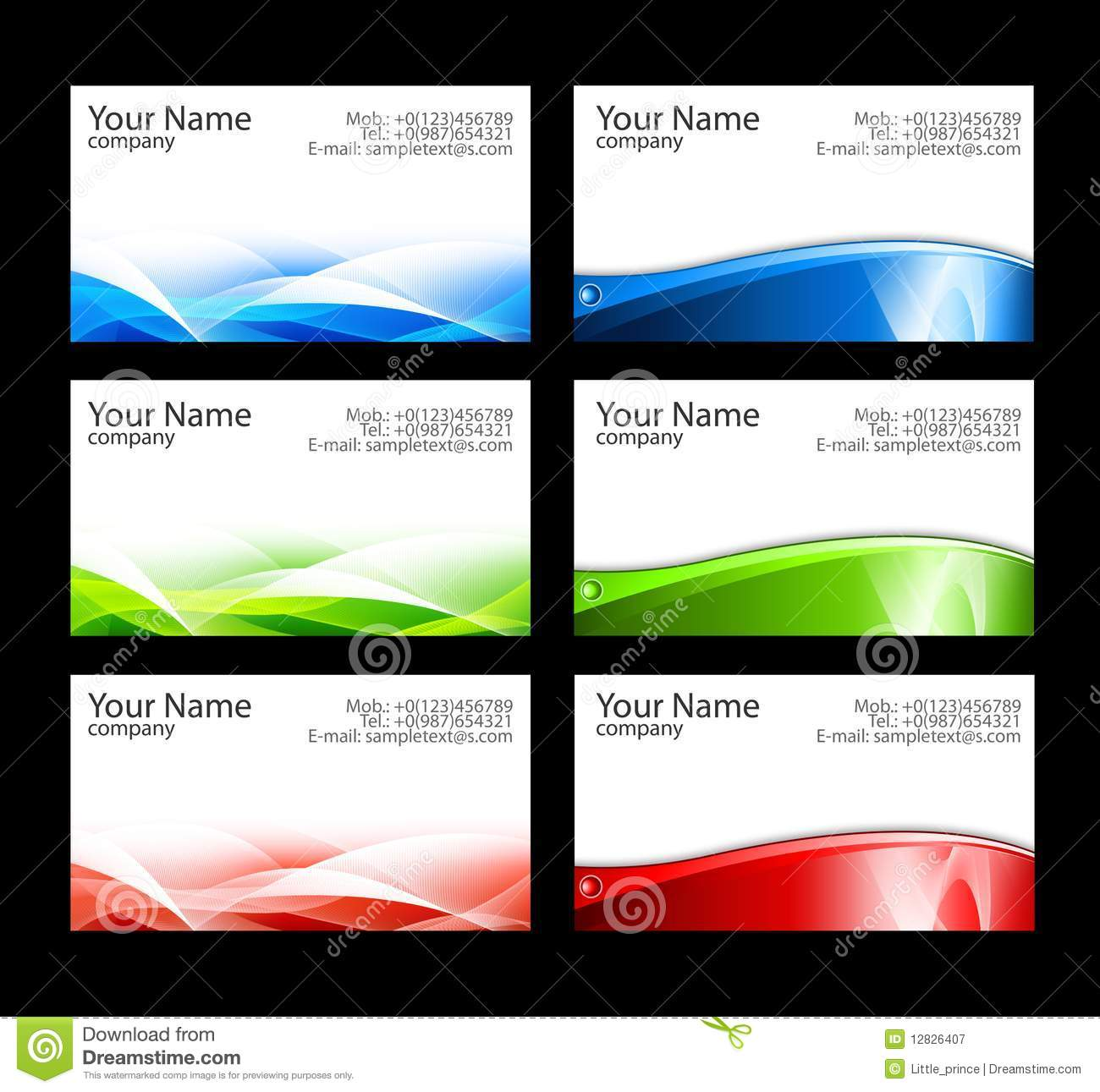 15 Free Avery Business Card Templates Images - Free Business Card ...