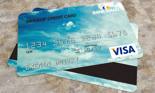 12 Discover Credit Card PSD Images