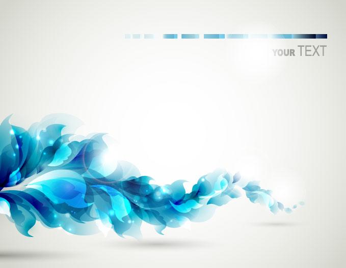 9 Free Elegant Blue Vector Images