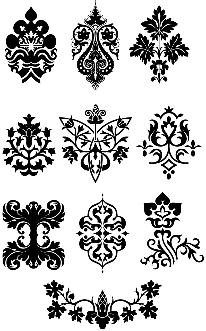 Free Ornate Vector Design Element
