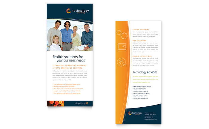 Free Rack Card Templates Microsoft Word