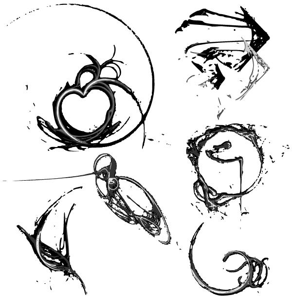 Free Vector Art Graphics Fractals