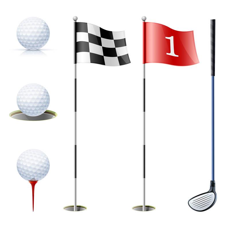15 Free Golf Vector Clip Art Images