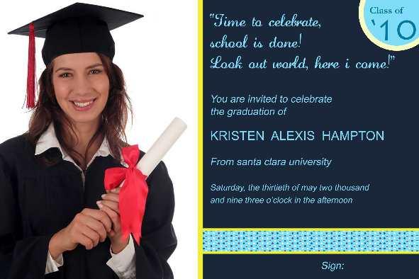 Graduation Announcements Templates