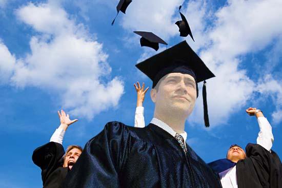 Graduation Photoshop Frames Template