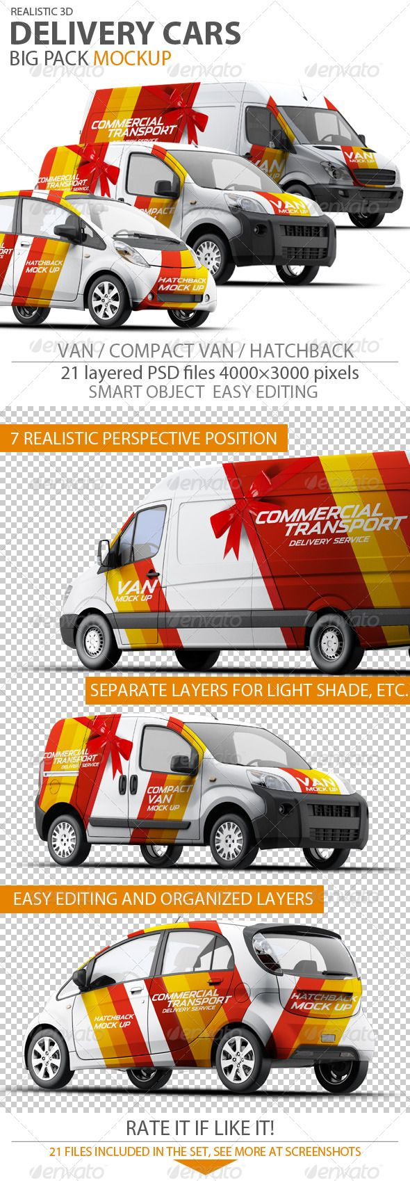Graphic Vehicle Wrap Mock Up