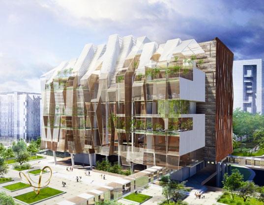 Green Architecture Buildings Designs