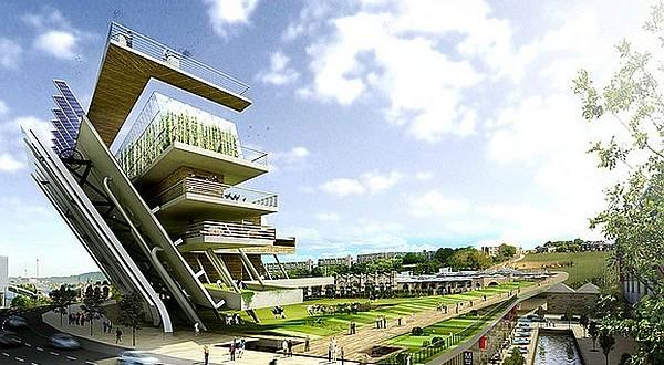 Green Future Architecture Designs