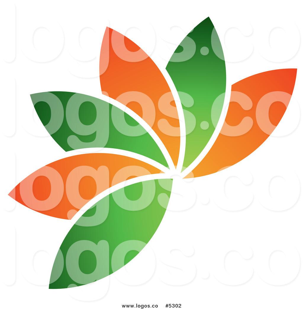 12 Ball Green Leaf Logo Design Images - Green Leaf Logo ...