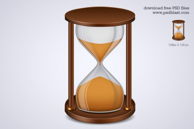 Hourglass Illustration