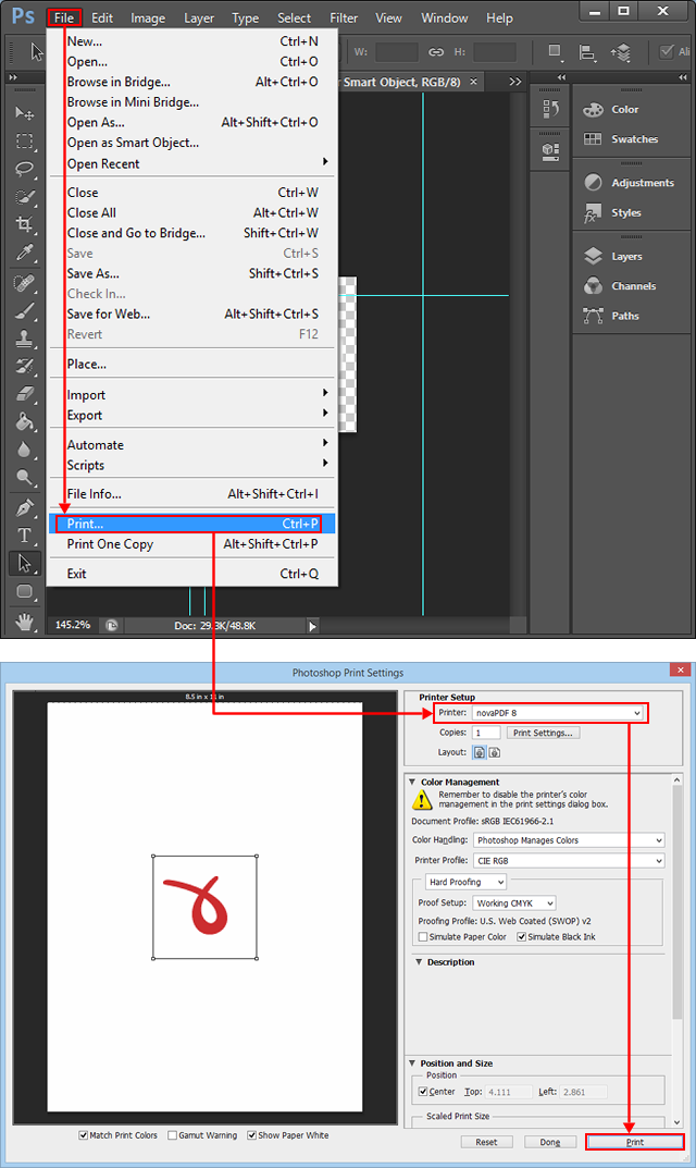 how to keep text links when pdf from google docs