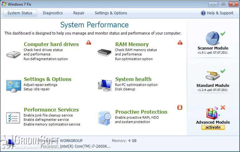 How to Repair Windows 7