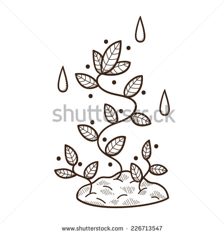 In Ground Plant Clip Art