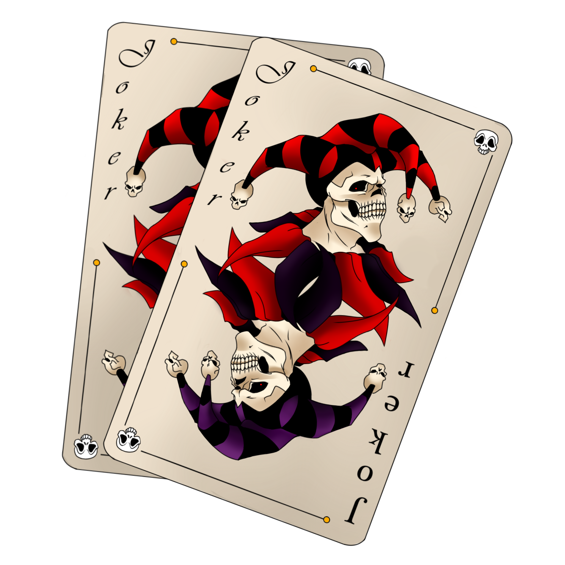 6 Joker Playing Card Designs Images