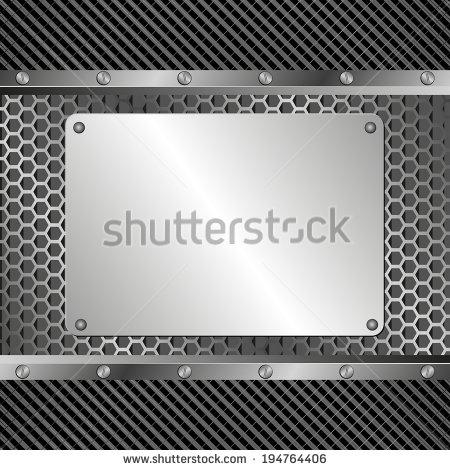 Metallic Vector Banners