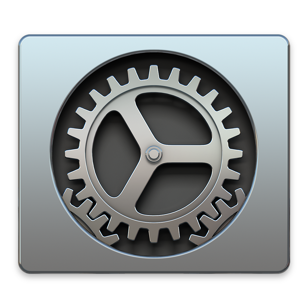 OS X System Preferences Icon