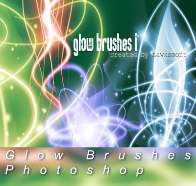 Photoshop Glow Brushes