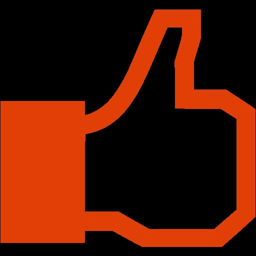 10 red facebook icon transparent images pink facebook