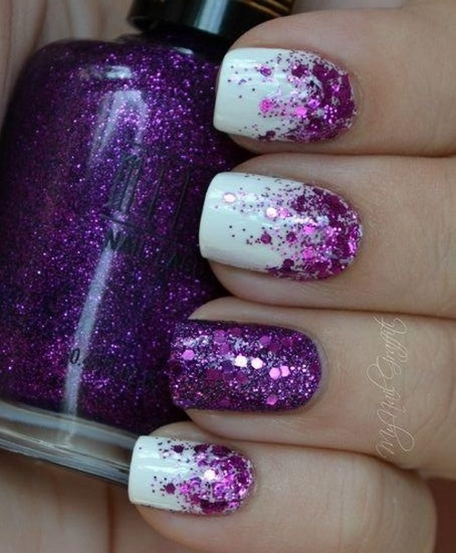 14 Cool Nail Designs Purple Images