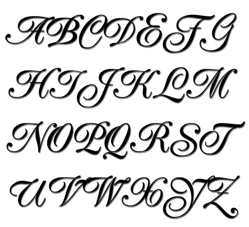 10 Script Embroidery Fonts And Alphabets Images