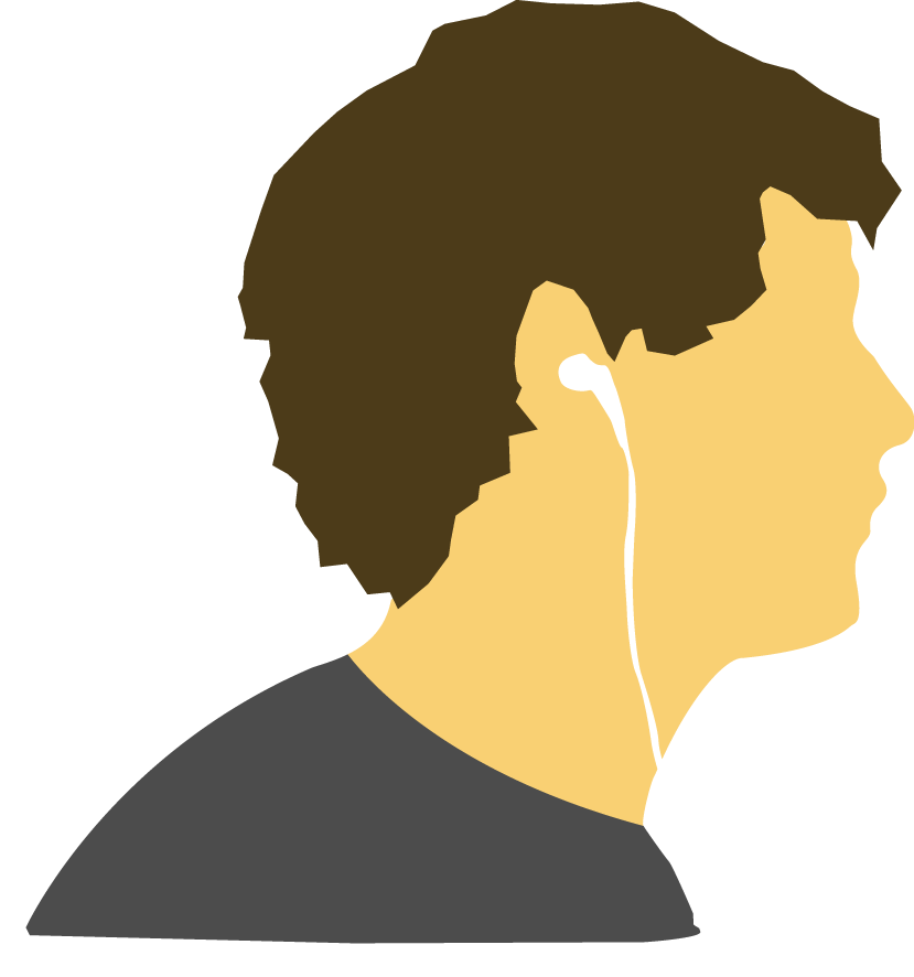 Side Profile Vector