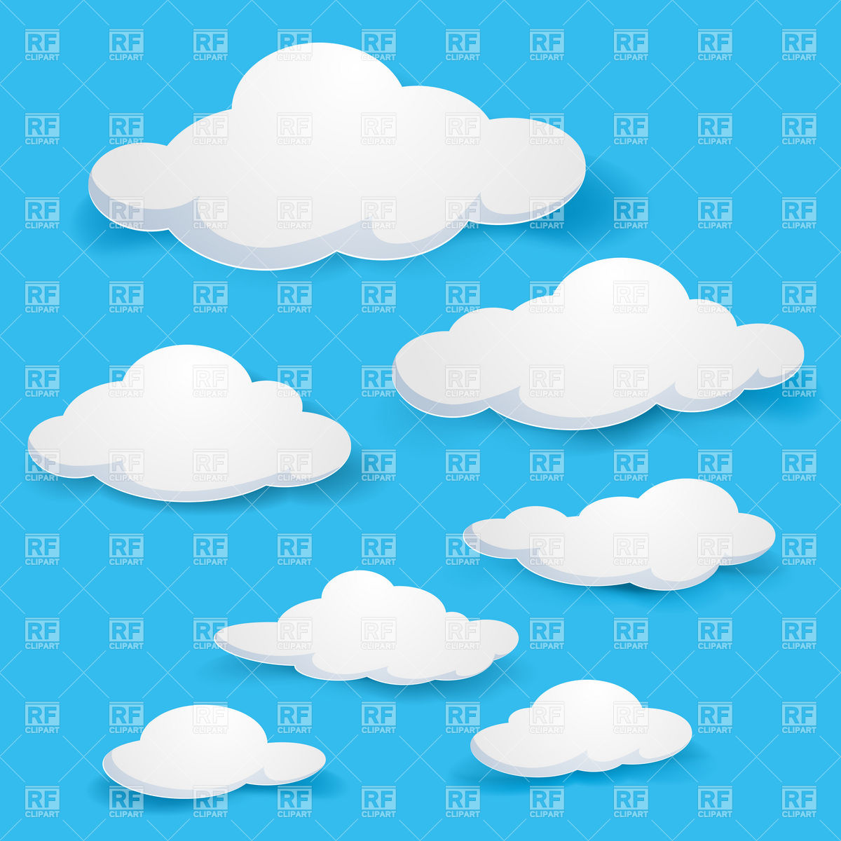 Sky Cartoon Clip Art