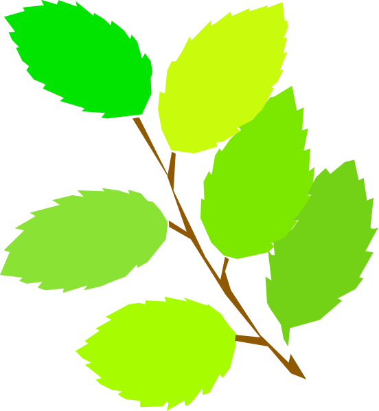Spring Leaves Clip Art Free