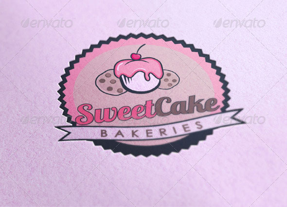 Cake Logo Design Psd : 17 Cake Logo PSD Images - Wedding Cake Business Logos ...