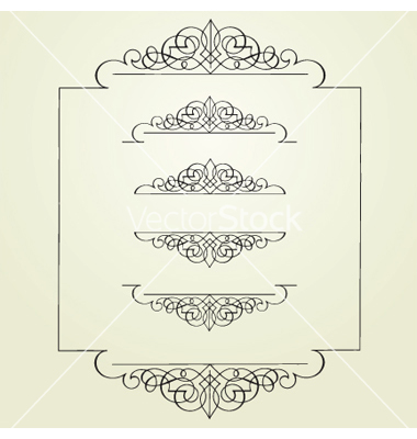 Swirl Border Clip Art