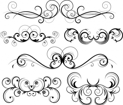 Swirl Vector Free Download
