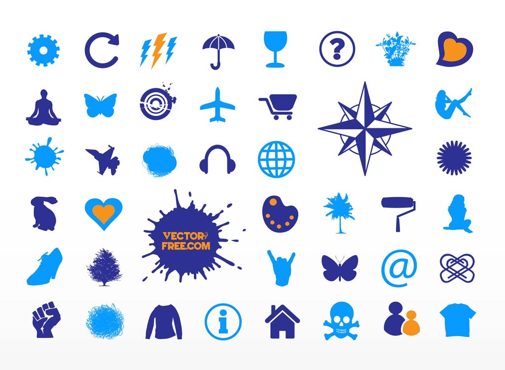 14 Free Vector Symbols Images