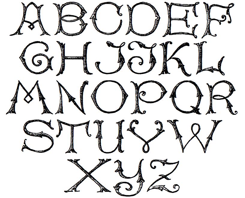 20 rustic alphabet fonts images vintage rustic fonts