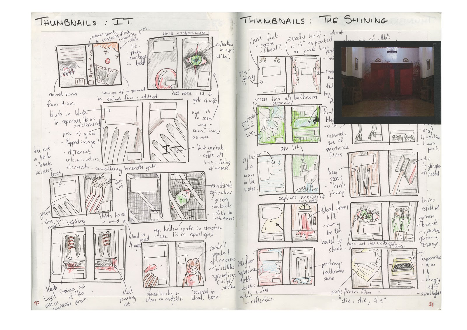 11 graphic design layout thumbnail sketches images