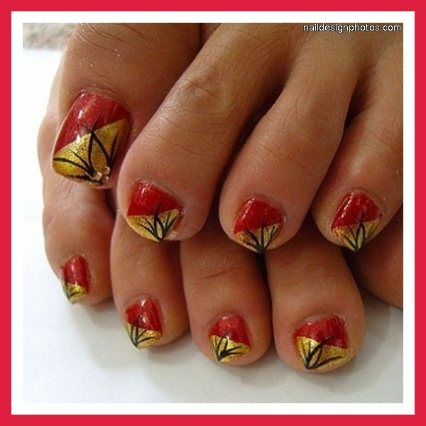 Toe Nail Designs Do It Yourself
