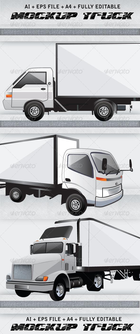 Truck Mockup Psd Free