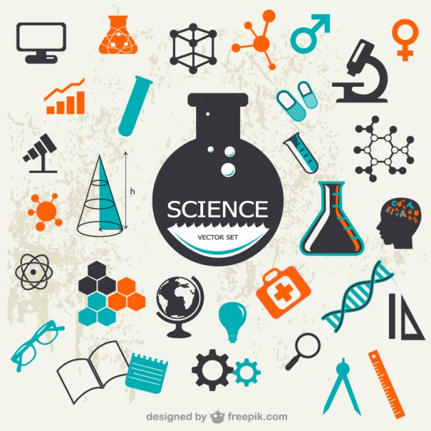 16 Science Icon Vector Images