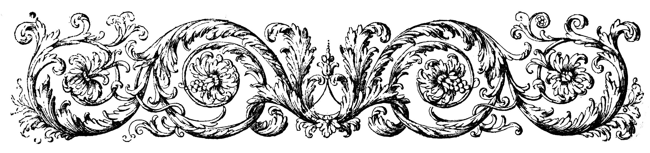 Victorian Flourish