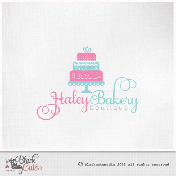 Wedding Cake Business Logos