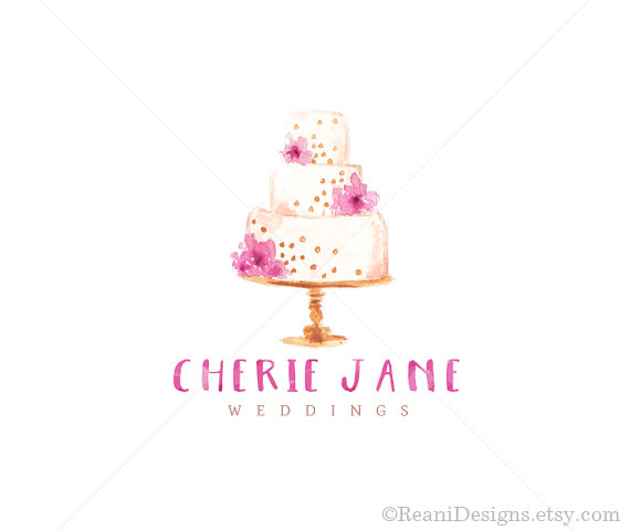 Wedding Cake Logo Designs