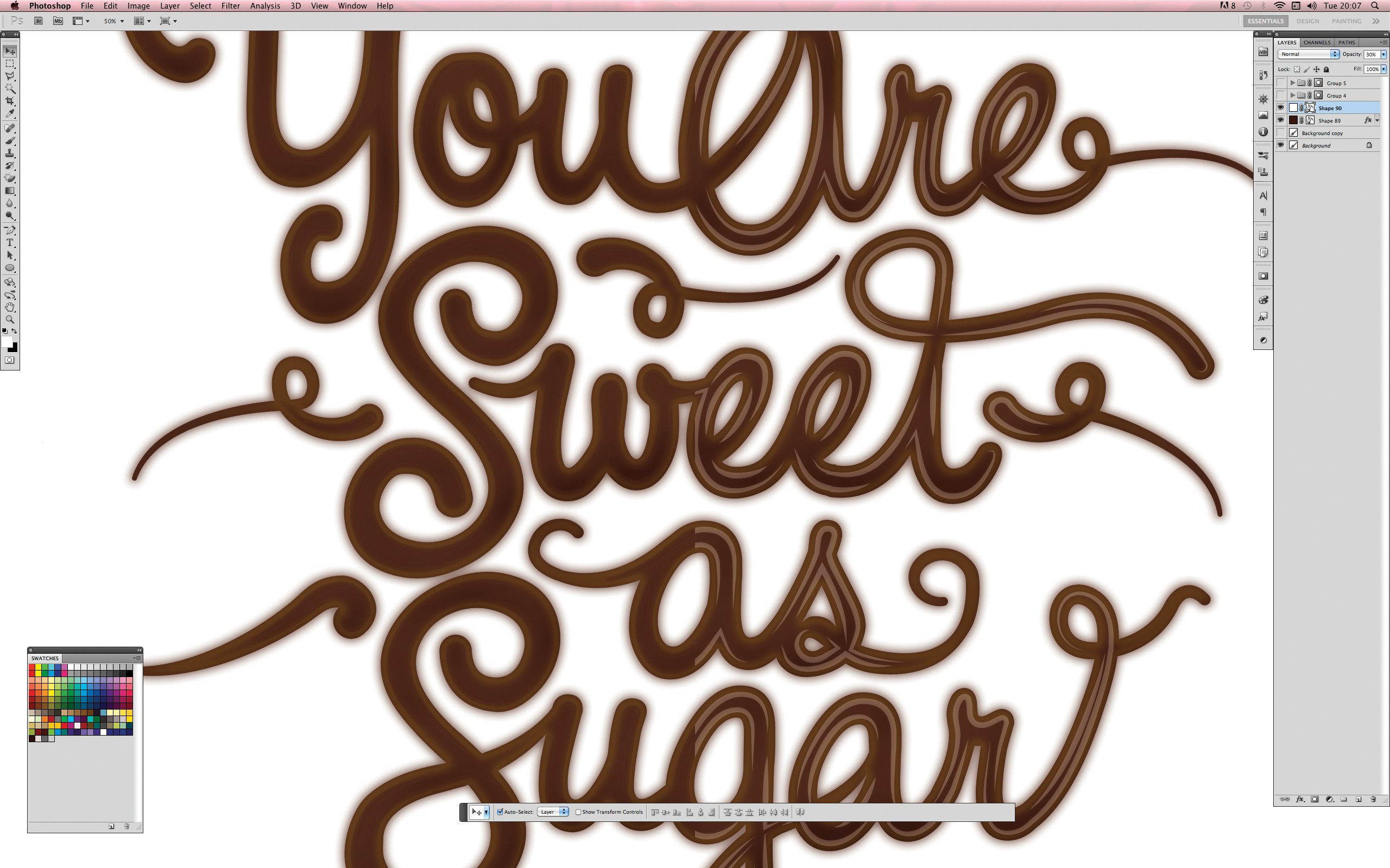 9 Dripping Chocolate Font Images