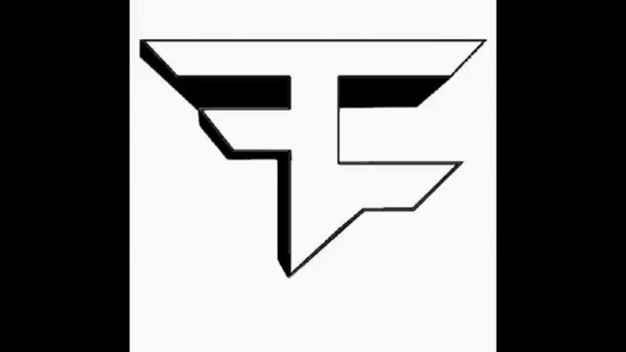 3D FaZe Logo Template