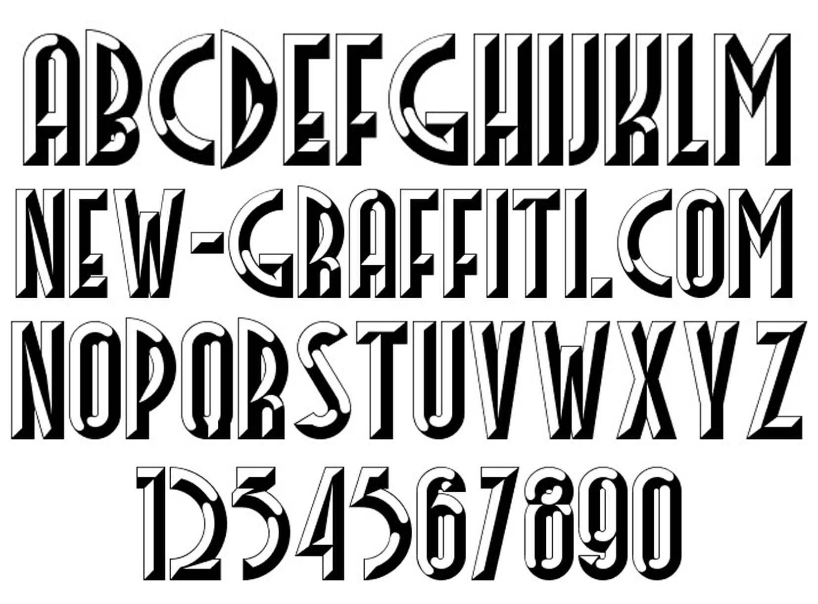 14 3D Number Fonts Images - Cool Number Fonts 3D, 3D ...