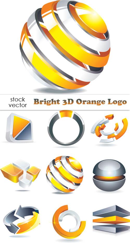 3D Logo PSD Templates