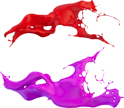 3D Paint Splash