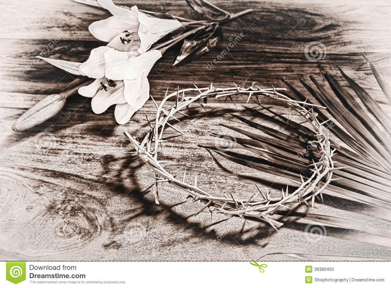 12 Black White Easter Religious Icons Images