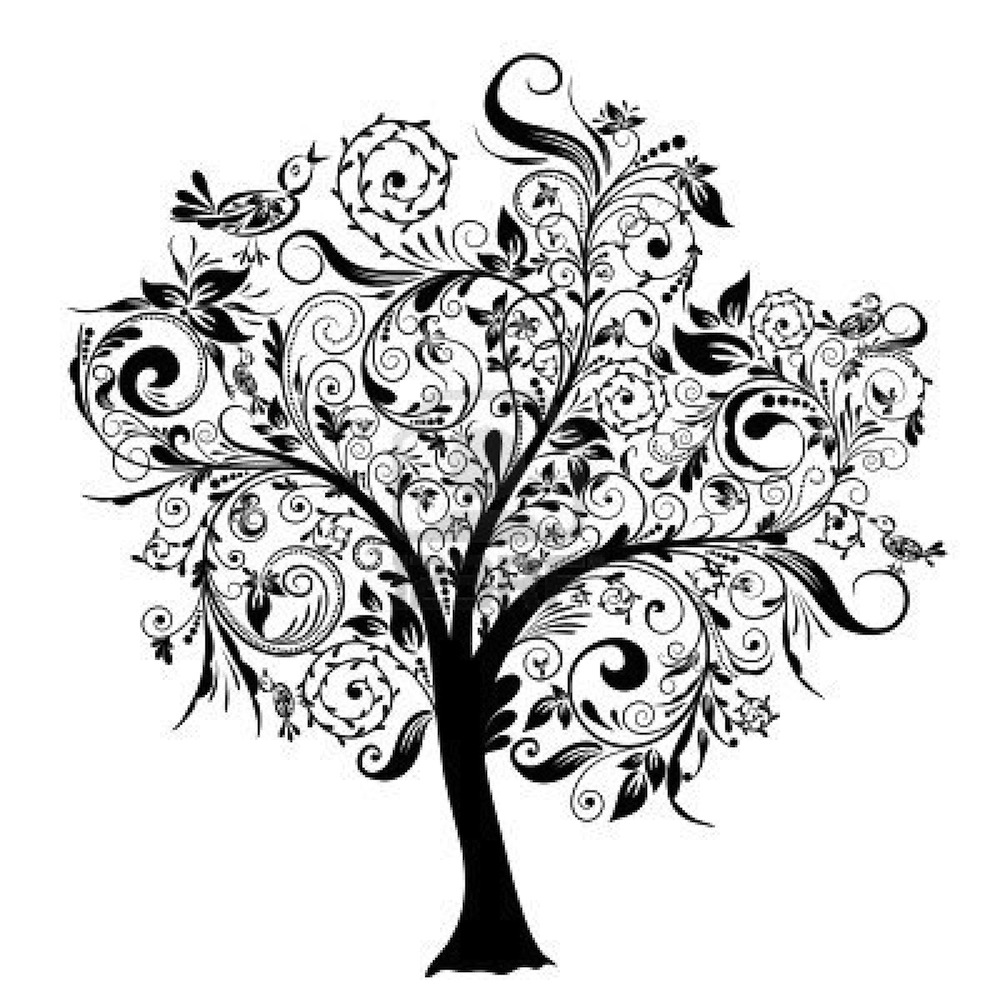 15 Decorative Trees Vector Images